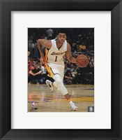 Framed D'Angelo Russell 2015-16 Action