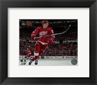 Framed Dylan Larkin 2015-16 Action