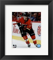 Framed Johnny Gaudreau 2015-16 Action