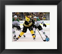 Framed Patrice Bergeron 2015-16 Action