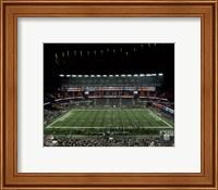 Framed New England Patriots unveil the Super Bowl XLIX championship banner at Gillette Stadium 2015