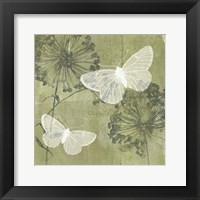 Framed Dandelion & Wings II