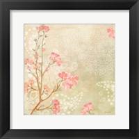 Framed Sweet Cherry Blossoms I