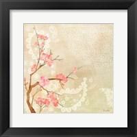 Framed Sweet Cherry Blossoms II