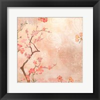 Framed Sweet Cherry Blossoms VI
