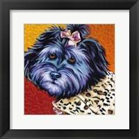 Cute Pups III Framed Print