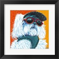 Cute Pups IV Framed Print