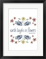 Flowers by Grace III Framed Print