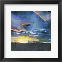 Vivid Sunset II Framed Print