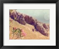 Flowers in Paradise I Framed Print