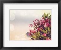 Flowers in Paradise II Framed Print