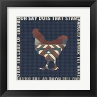 Fourth on the Farm Collection H. Framed Print