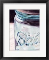 Mason Jar II Framed Print