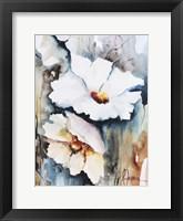 Blooms Aquas II Framed Print