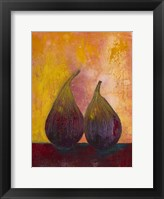 Framed Bold Fruit V