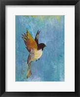 Framed Bright Wings I