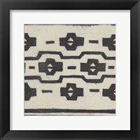 Tribal Patterns VI Framed Print