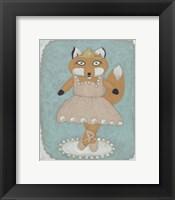 Ballerina Animal I Framed Print