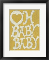 Oh Baby, Baby Framed Print
