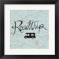 Road Trip II Framed Print