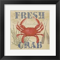 Wild Caught Crab Framed Print