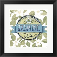 Tea Label I Framed Print