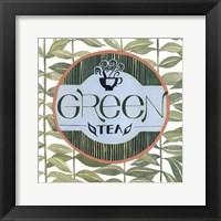 Tea Label III Framed Print