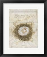 Framed Nest - Bunting
