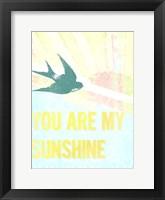 My Only Sunshine I Framed Print