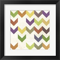 Arrow Pattern II Framed Print