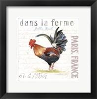 Framed Dans la Ferme III