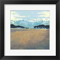 Aureate Seascape I Framed Print