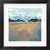Aureate Seascape II Framed Print