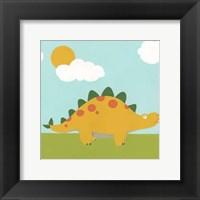 Playtime Dino II Framed Print