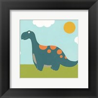 Playtime Dino III Framed Print