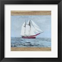 Seagrass Nautical I Framed Print