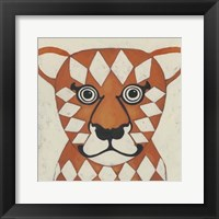 Zoo Portrait II Framed Print
