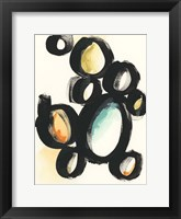 Cellular Structure II Framed Print