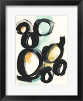 Cellular Structure III Framed Print