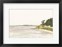 Framed Solitary Coastline I