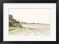 Framed Solitary Coastline II