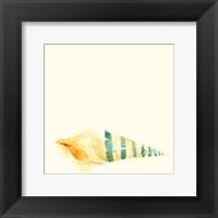 Tidal Impressions II Framed Print