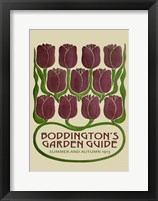 Framed Boddington's Garden Guide III