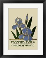 Framed Boddington's Garden Guide IV