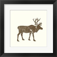 Timber Animals I Framed Print