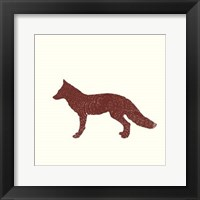 Timber Animals III Framed Print