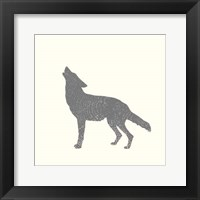 Timber Animals IV Framed Print