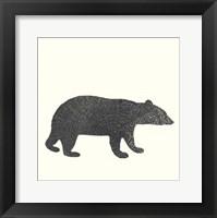 Timber Animals V Framed Print