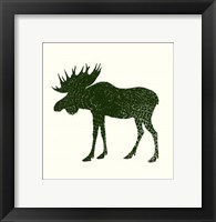 Timber Animals VI Framed Print