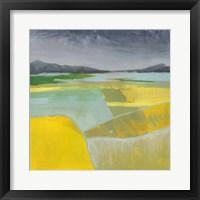 Golden Valley I Framed Print
